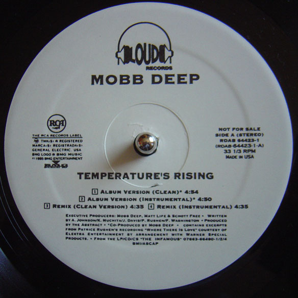 Mobb Deep – Temperature's Rising / Still Shinin' (1995)