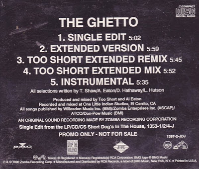 Too $hort – The Ghetto (1990)