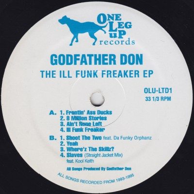 Godfather Don – The Ill Funk Freaker EP (2009)