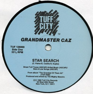 Grandmaster Caz – Star Search (1992)