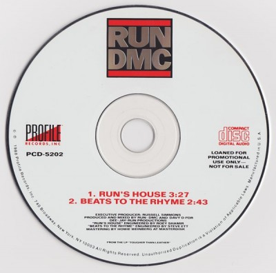 Run-DMC – Run's House / Beats To The Rhyme (1988)