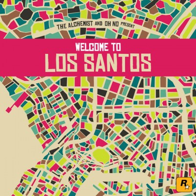 OST – The Alchemist & Oh No Present: Welcome To Los Santos (2015)