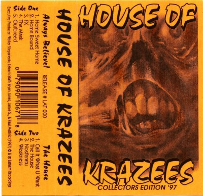 House Of Krazees – Collectors Edition '97 (1997)