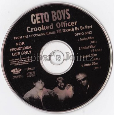 Geto Boys – Crooked Officer (1993)