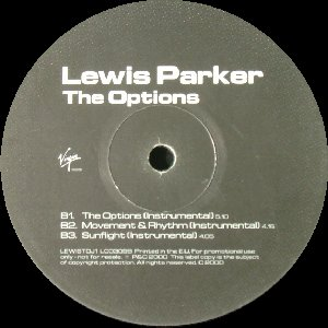 Lewis Parker ‎– The Options EP (2000)