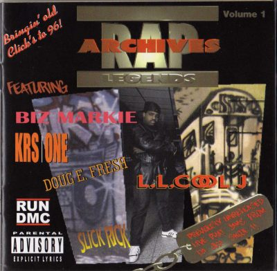 Various Artists – Rap Archives Legends, Vol. 1 (1996)