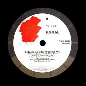 Brothers On Organised Missions – Boom (1991)