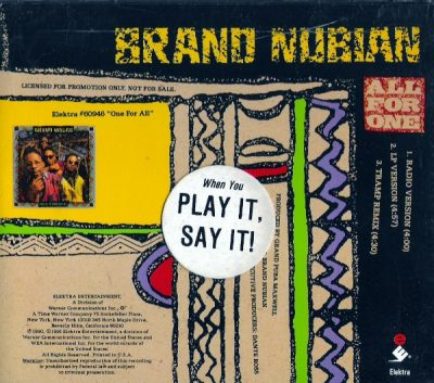 Brand Nubian – All For One (1990)