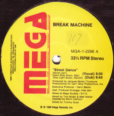 Break Machine – Street Dance / Break Dance Party (1986)