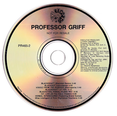 Professor Griff – Blackdraft (1993)