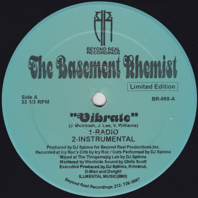 The Basement Khemist – Vibrate / Everybody (L.I.F.E.) (1999)