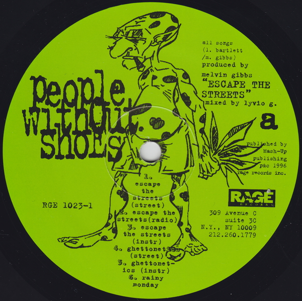 People Without Shoes – Escape The Streets EP (1996)
