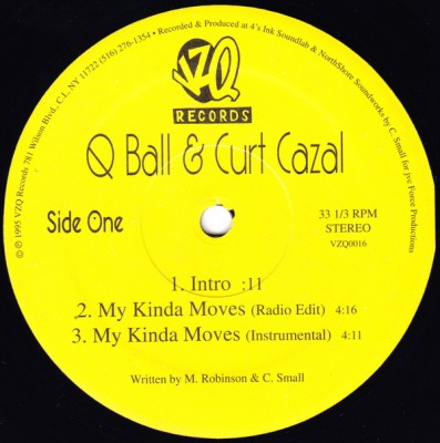 Q-Ball & Curt Cazal – My Kinda Moves (1995)