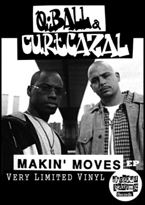 Q-Ball & Curt Cazal – Makin' Moves EP (2013)